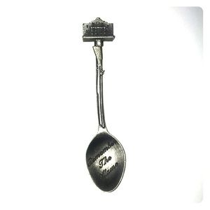 Remember The Alamo Souvenir Spoon Vintage